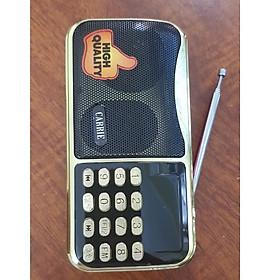 Loa đài radio 668 nghe đài radio, usb, thẻ nhớ,có đèn pin hàng xịn 2 pin
