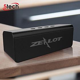 Loa bluetooth nghe nhạc không dây kết nối bluetooth 5.0 hỗ trợ thẻ nhớ âm bass siêu trầm hàng chính hãng tặng kèm 1 móc khóa chữ Bamboo
