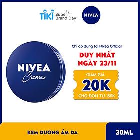 Kem Dưỡng Ẩm Da Nivea - 80101 (30ml)
