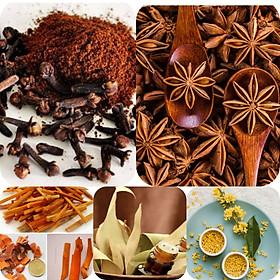 Bột Ngũ vị bát hương tẩ y uế,bao sái ( loại lá ) bàn thờ (nấu nước rồi dùng)