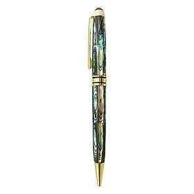 Bút ký cao cấp làm từ Vỏ Bào Ngư 7 sắc màu - ngòi 0.7mm - dùng viết, ký hay quà tặng