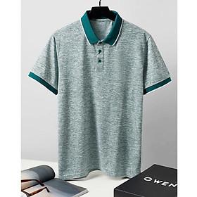 OWEN - Áo Polo ngắn tay Owen màu xanh 23060 - Áo thun nam ngắn tay có cổ