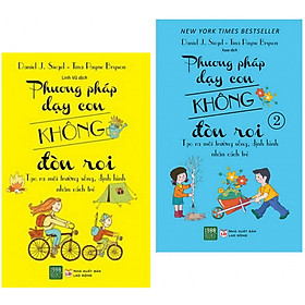 Combo 2 cuốn sách dậy con dành cho cha mẹ: Phương Pháp Dạy Con Không Đòn Roi ( trọn bộ 2 cuốn) (  Tặng kèm bookmark Happy Life)