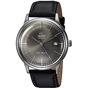 Orient '2nd Gen Bambino Version III' Japanese Automatic Stainless Steel and Leather Dress Watch