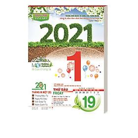 Lịch bloc đại 2021 MS AH.15 - Môi Trường Xanh