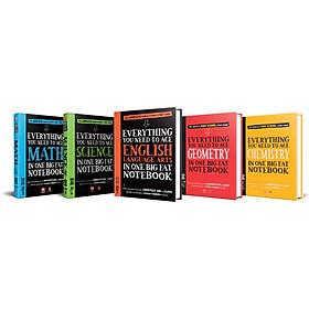 Sách - Sổ tay học tập - Toán học, Hình học, Hóa học, Khoa học,  Bản Tiếng Anh ( Bộ 5 cuốn )