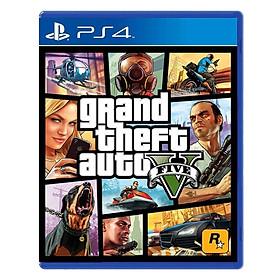 Đĩa Game PlayStation PS4 Sony GTA Grand Theft Auto V Hệ Asia– Hàng Nhập Khẩu