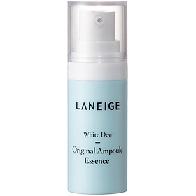 Bộ Kem dưỡng nâng tông da trắng hồng tự nhiên Laneige White Dew Tone Up Cream 50ml + tặng Bộ dưỡng trắng làm sáng da White Dew Trial Kit-6