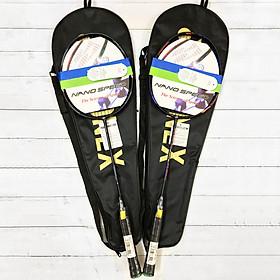 Combo 2 Vợt Cầu Lông tập luyện có cước kèm bao vợt YN
