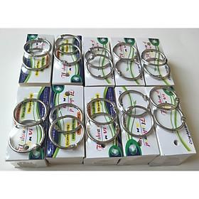 1000 thẻ flashcard trắng bo 4 góc kích thước 3,5x8cm học từ vựng: Anh, Nhật, Hàn, Đức, Trung