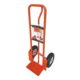 Xe đẩy Kanson tay cầm chữ P màu cam TP-XDT025W - tải trọng 360kg