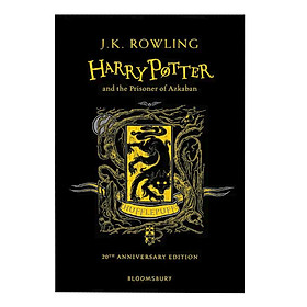 Harry Potter And The Prisoner Of Azkaban (Hufflepuff Edition Hardback) (English Book)