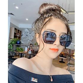 Mắt kính thời trang nữ chống tia UV cao cấp BD1125