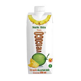Nước dừa - thơm Vietcoco hộp 500ml