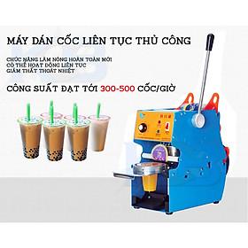 Máy dập miệng cốc trà sữa IC 27