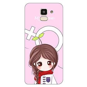 Hình đại diện sản phẩm Ốp lưng dẻo cho Samsung Galaxy J6_Couple Girl 06