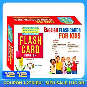 Flashcard Dạy Trẻ Theo Phương Pháp Glenn Doman - Tiếng Anh Cho Bé (Tái Bản) - Kèm CD