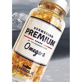 Viên nang Dầu Cá Hồi nguyên chất, tinh khiết Norwegian Premium Omega-3 500mg (120 Viên)