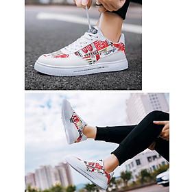 Giày nam sneaker thể thao họa tiết-2