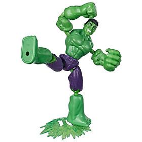 Đồ Chơi Nhân Vật Hulk Avengers Bend N Flex E7871