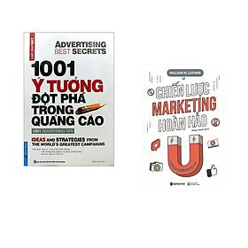 Combo 2 cuốn sách: 1001 ý Tưởng Đột Phá Trong Quảng Cáo + Chiến Lược Marketing Hoàn Hảo