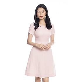 Đầm xòe tay ngắn cổ tròn KK105-29 K&K Fashion