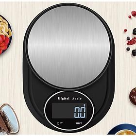 Cân điện tử nhà bếp độ chính xác cao Digital Electronic Scale cảm ứng vân tay chống nước 3KG 5KG 10KG cân nhà bếp cân thực phẩm cân tiểu ly