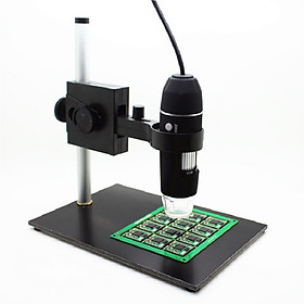 Kính hiển vi điện tử để bàn 1000X kết nối máy tính ( Tặng 01 đèn pin mini trợ sáng màu ngẫu nhiên )