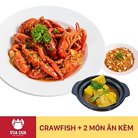 Vua Cua - Voucher Combo Crawfish