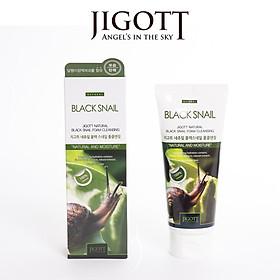Sữa Rửa Mặt Jigott Natural Black Snail