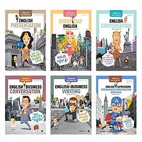 Sách ( Combo 6 cuốn ): Sống Sót Nơi Công Sở - English Business