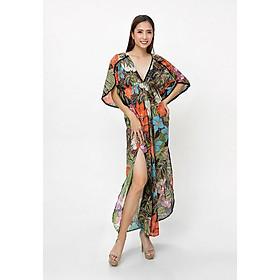 Đầm Maxi Cotton Hoa Luna Llena LN114NP1-BL
