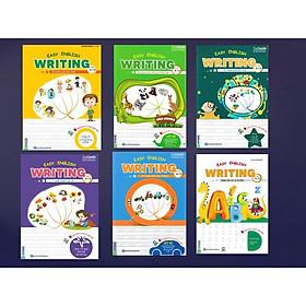 Combo Easy English Writing For Kids (Tặng bút chì và cục tẩy ngộ nghĩnh)