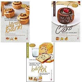 Bộ Sách Kỹ Thuật Làm Bánh Ngọt (Bộ 3 Cuốn)