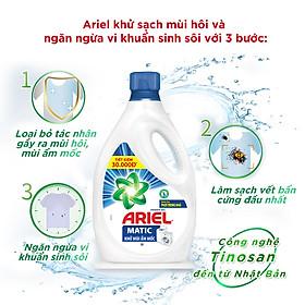 Nước Giặt Ariel Khử Mùi Ẩm Mốc Dạng Chai 2.4Kg