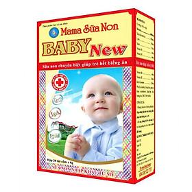 MAMA SỮA NON BABY NEW sản phẩm bổ sung dinh dưỡng dành cho bé