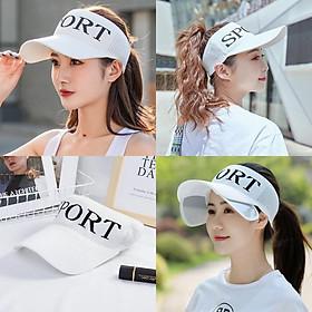 Mũ chống nắng nửa đầu, nón lưỡi trai cao cấp, nón kết thời trang cho cả nam và nữ MD03
