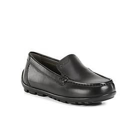 Giày Lười Bé Trai GEOX  J NEW FAST B. B BLACK