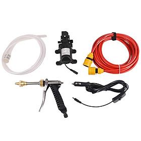12V Portable Car High Pressure Washer Water Pump Jet Wash Cleaner Hose Van Kit
