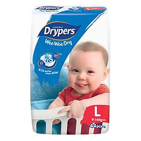Tã Dán Drypers Wee Wee Dry Gói Đại L44 (44 Miếng)