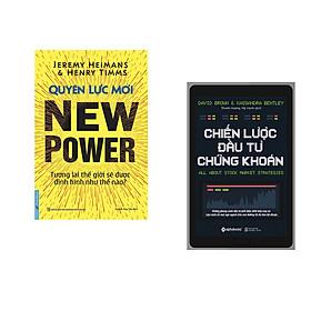 Combo 2 cuốn sách: Quyền Lực Mới - Tương lai TG sẽ được định hình như thế nào? + Chiến Lược Đầu Tư Chứng Khoán