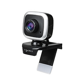 HXSJ A849 USB Web Camera 480P Computer Camera Manual Focus Webcam with Sound-absorbing Microphone for PC Laptop