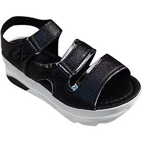 Giày Sandal Nữ Phong Cách Hàn Quốc S028 - Đen