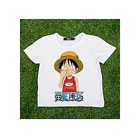 Áo Thun Trẻ Em Đảo Hải Tặc Áo Thun One Piece