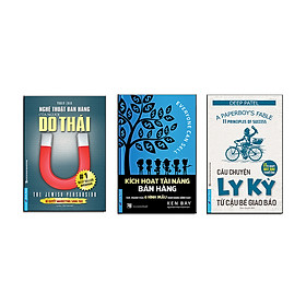 Bộ sách bán hàng tuyệt đỉnh 2 (Câu chuyện ly kỳ về cậu bé giao báo + Kích hoạt tài năng bán hàng + Nghệ thuật bán hàng của người Do thái)