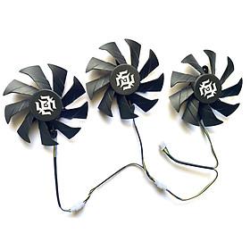 3pcs/lot 85mm RTX2080 GPU FAN For ZOTAC RTX 2080 SUPER-8GD6 X-GAMING GeForce RTX 2060 GTX 1060-6GD5 RTX2070 SUPER Video Card Fan 4PIN