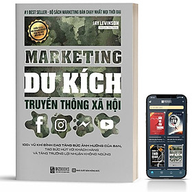 Sách - Marketing Du Kích truyền thông xã hội