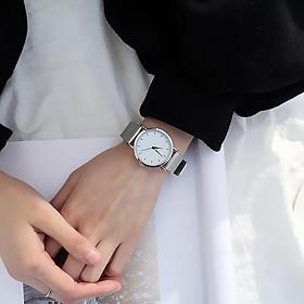 Đồng hồ thời trang cặp đôi nam nữ lưới nhẹ nhàng ZO63