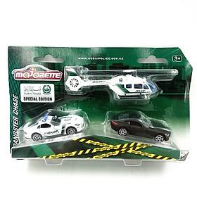 Đồ Chơi Trẻ Em Mô Hình Cảnh Sát Majorette Gangster Chase 212057301047