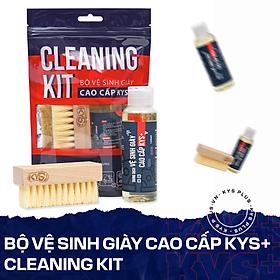 Bộ vệ sinh giày cao cấp - Cleaning Kit KYS+ tẩy trắng cho giày thể thao, giày sneaker, làm sạch giày da, da lộn